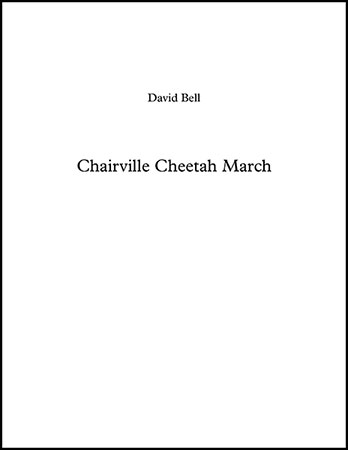 Chairville Cheetah March
