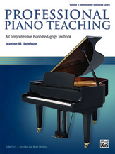 Professional Piano Teaching, Vol. 2