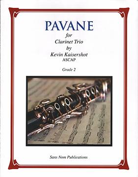 Pavane Cover