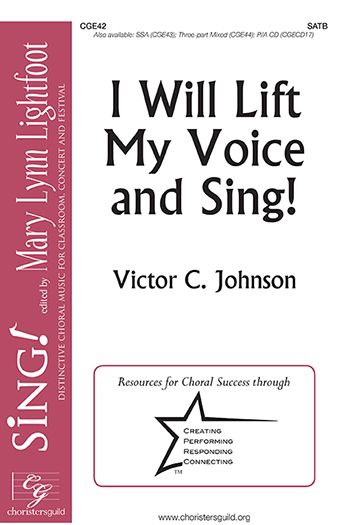 I Will Lift My Voice and Sing!