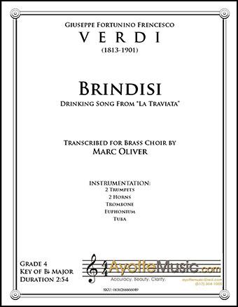 Drinking Song (Brindisi) from La Traviata