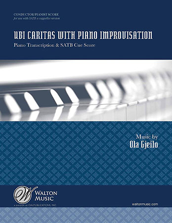 Ubi Caritas With Piano Improvisation Score Jw Pepper Sheet Music