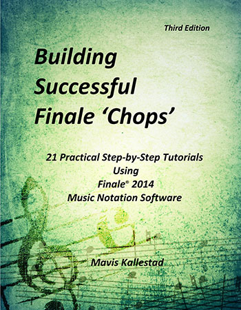 Building Successful Finale 'Chops'