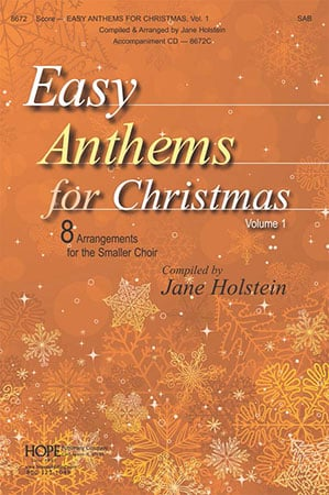 Easy Anthems for Christmas, Vol. 1