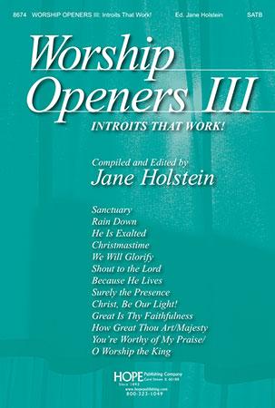 Worship Openers #3