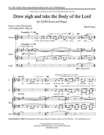 Draw Nigh and Take the Body of the Lord