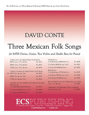 Three Mexican Folk Songs