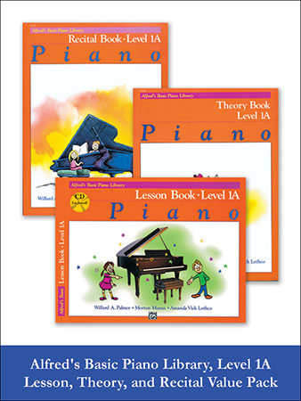Alfred's Basic Piano Library, Level 1A: Lesson, T | J W  Pepper