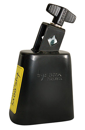 Black Powder Coated Cowbell