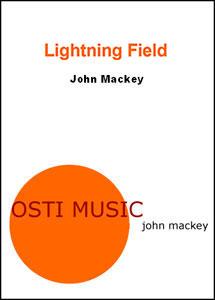Lightning Field band sheet music cover
