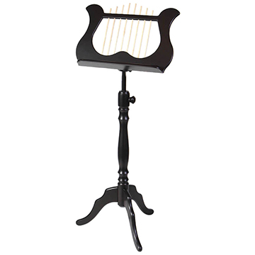 Wooden Lyra Music Stand