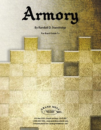Armory choral sheet music cover