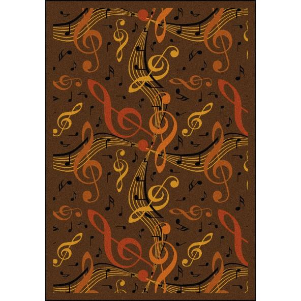 Virtuoso Musical Themed Carpet