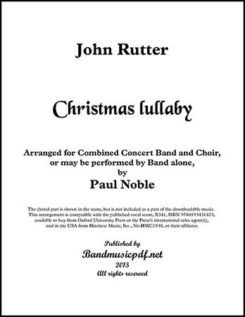 RUTTER CHRISTMAS LULLABY EBOOK DOWNLOAD