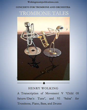 Trombone Tales, Concerto for Trombone and Orchestra