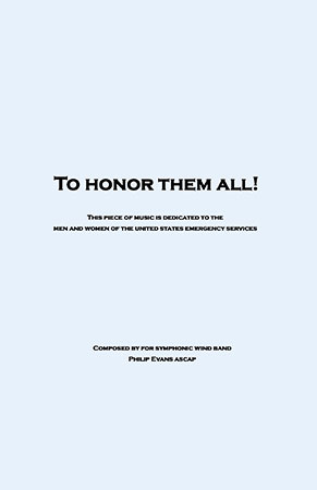 To Honor Them All