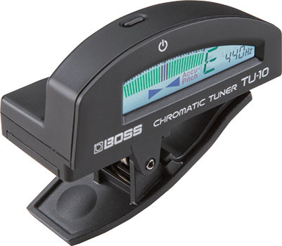 TU-10 Clip-On Chromatic Tuner