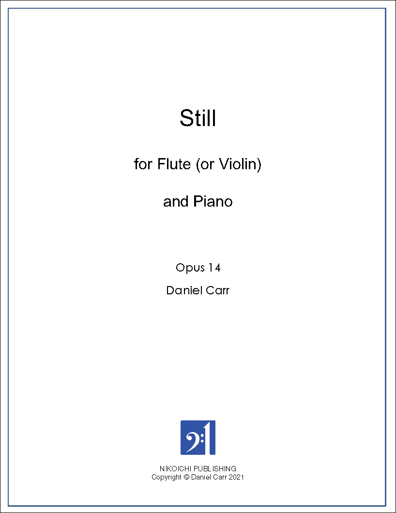 Still for Flute (Violin) and Piano