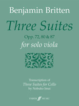 Three Suites, Op. 72, 80 and 87