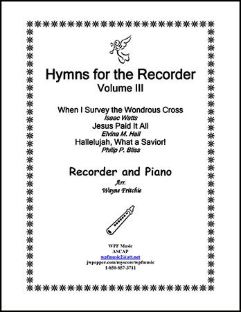Hymns for the Recorder Volume III
