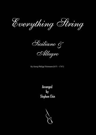 Siciliano and Allegro