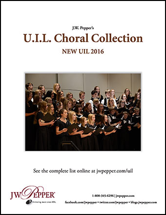 UIL Choral Collection 2016 Update