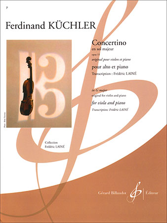 Concertino in G Major, Op. 15
