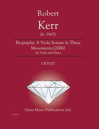 Biography: A Viola Sonata in Three Movements
