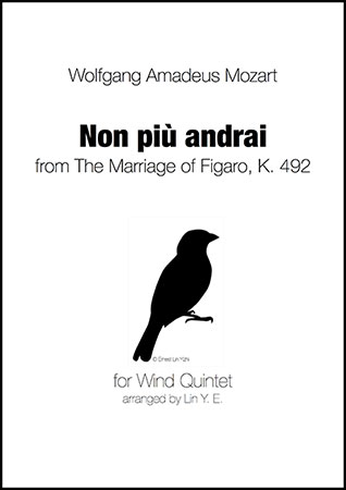 Non Piu Andrai from The Marriage of Figaro