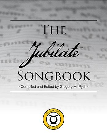 The Jubilate Songbook