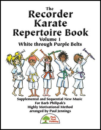 Recorder Karate Repertoire Book