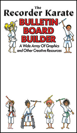 Recorder Karate Bulletin Board Builder
