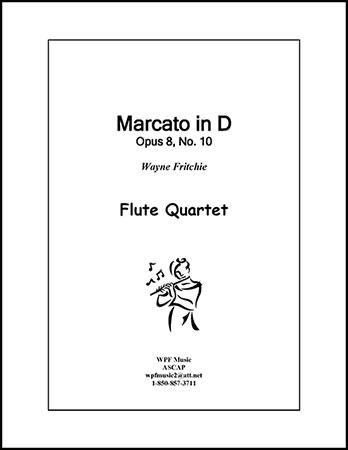 Marcato in D, Opus 8, No. 10