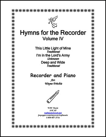 Hymns for the Recorder Volume IV