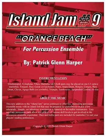 Island Jam No. 9 for Percussion Ensemble