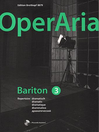 OperAria, Vol. 3: Dramatic Baritone