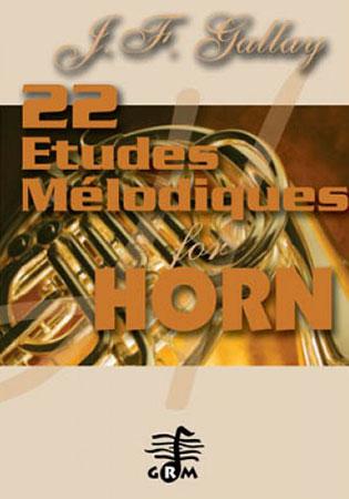 22 Etudes Melodiques