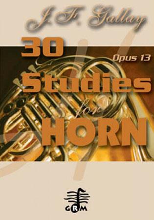 30 Studies, Op. 13