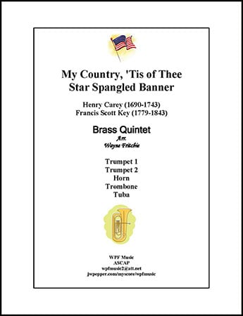 My Country, 'Tis of Thee - Star Spangled Banner