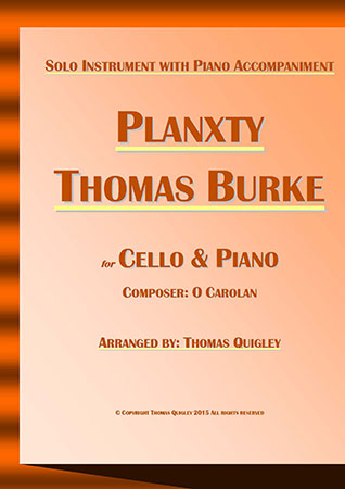 Planxty Thomas Burke