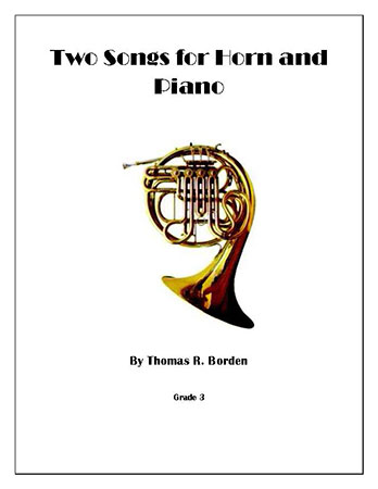 Two Songs for Horn and Piano