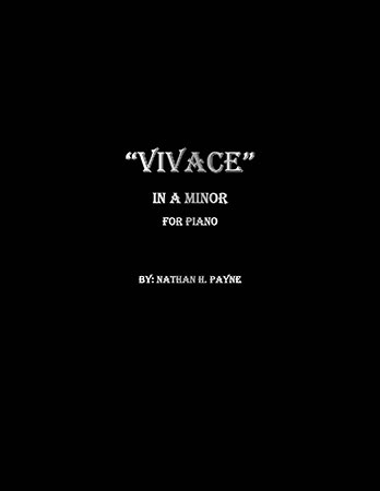 Vivace in A Minor for Piano