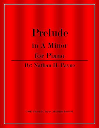 Prelude in A Minor for Piano