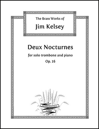 Deux Nocturnes for Trombone and Piano, Op. 16