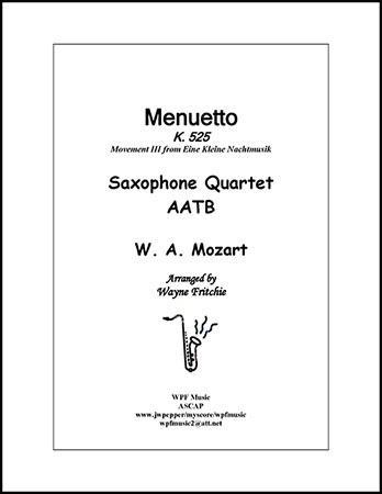 Menuetto K. 525