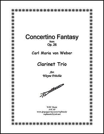 Concertino Fantasy from Opus 26