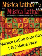 Musica Latina para Dos: Books 1 & 2
