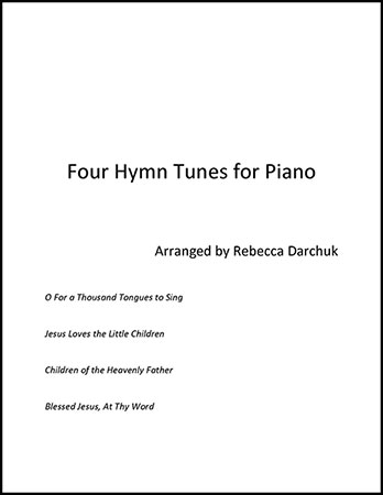 Four Hymn Tunes for Piano
