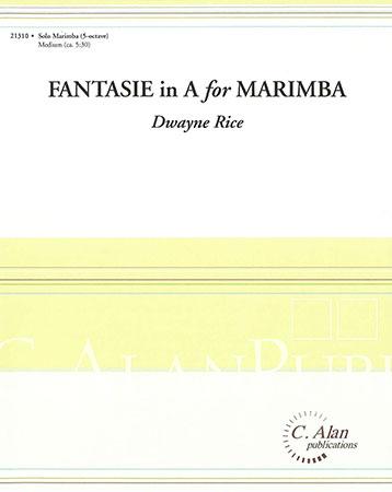 Fantasie in A for Marimba