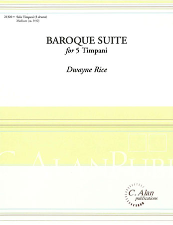 Baroque Suite for Five Timpani
